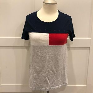 💥 3/$25 Tommy Hilfiger Big Logo T Shirt XXS/XS